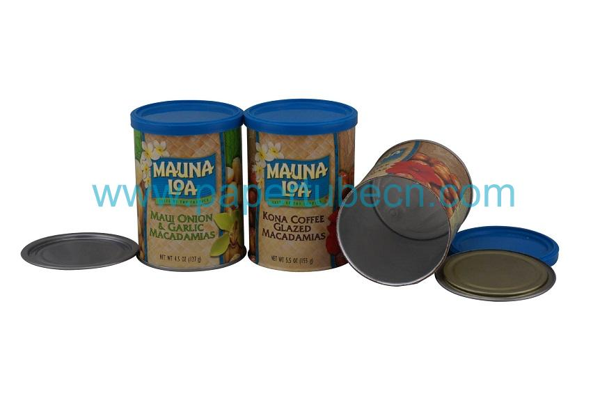 Macadamia Nuts Canister Packaging Paper Tube