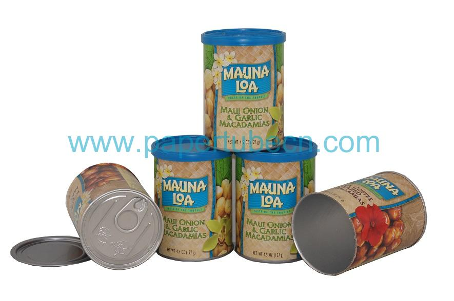 Macadamia Nut Packaging Paper Cans