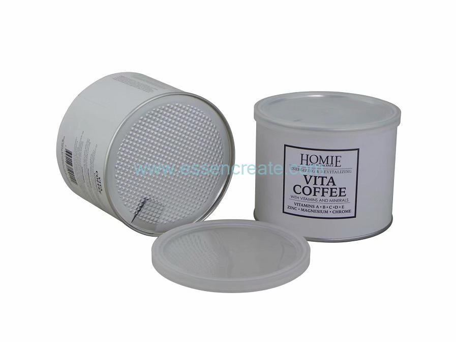 Coffee Packaging Food Grade Cylinder Cans