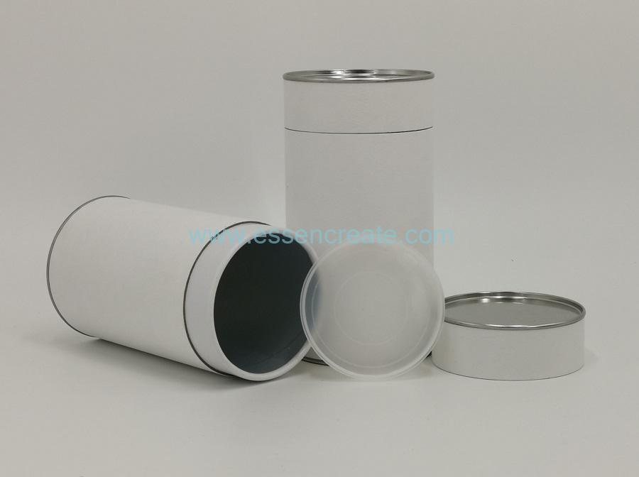 Double Lids Tea Packing Tube