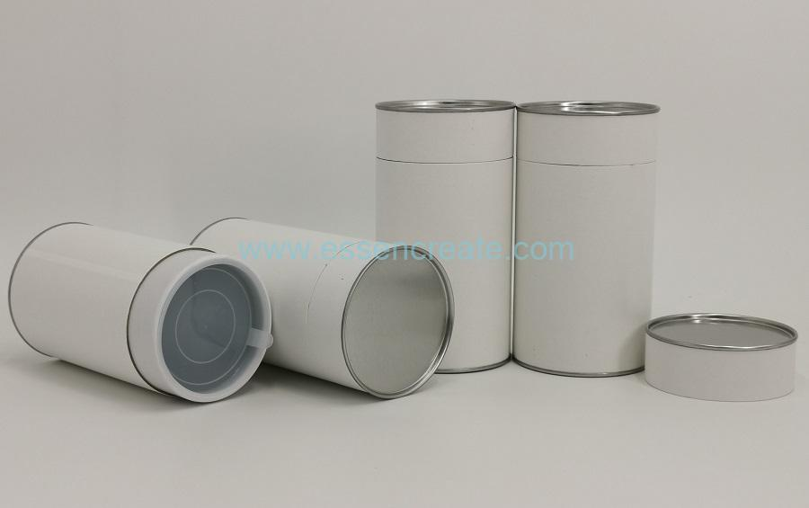 Paper Tube with Tin End