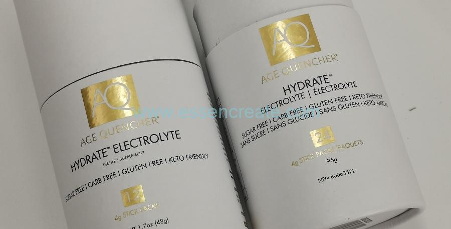 Foil Stamping Cylinder Tube Packaging