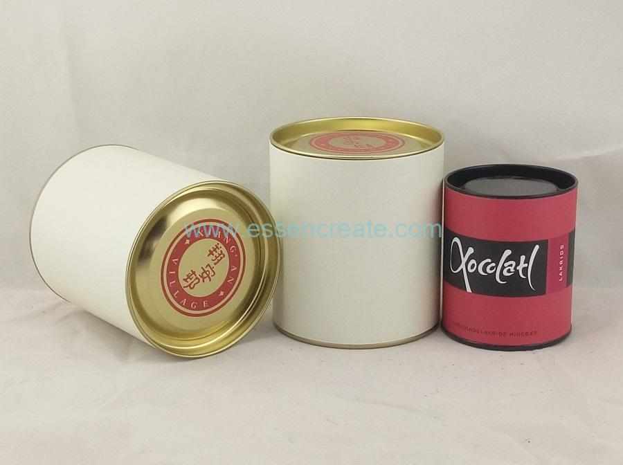 Chocolate Packaging Paper Canister