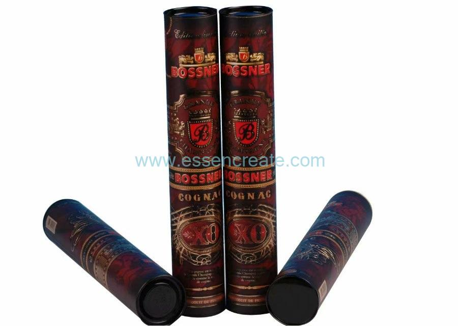 Champagne Packaging Paper Tube