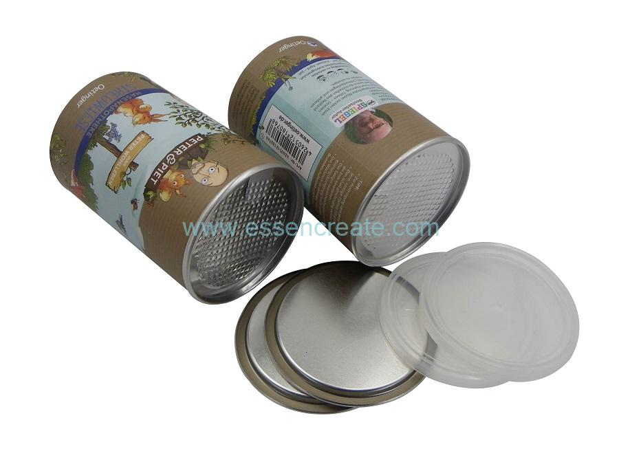 Seed Packaging Paper Cans