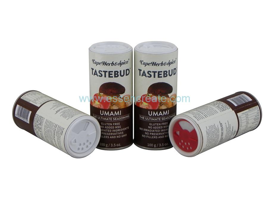 Shaker Top Paper Tube for Seasoning Spice Packaging