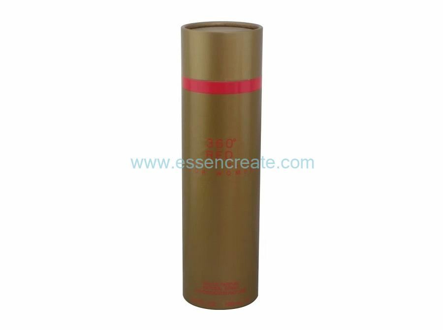 Scent Bottle Packaging Paper Tube with Rolled Edge