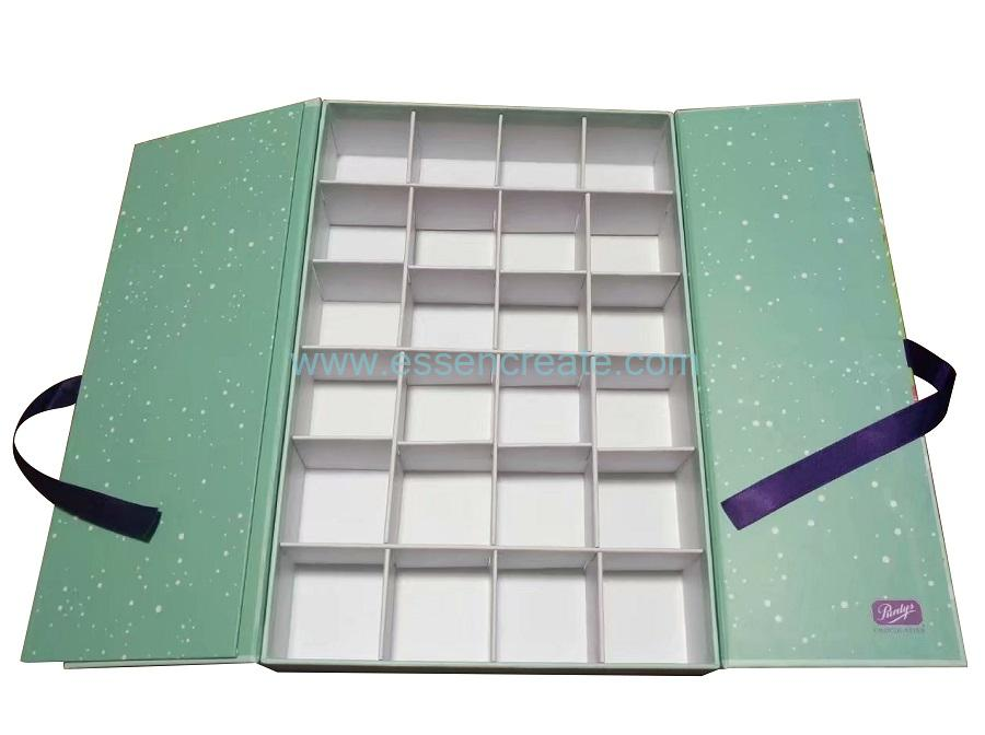 Paper Rigid Box with Divider Grids
