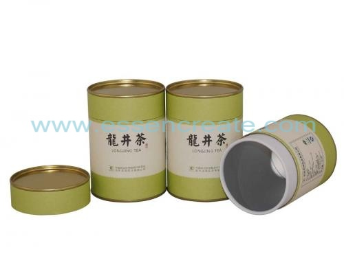 Non-toxic Tea Canister Packaging Paper Tube