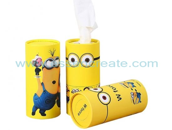 Car Tissue Paper Packaging Tube