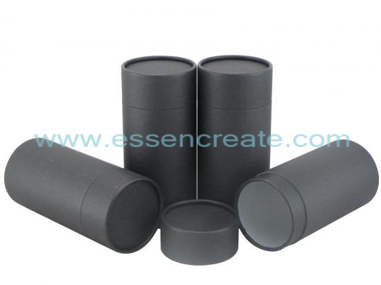 Black Special Fancy Paper Tube