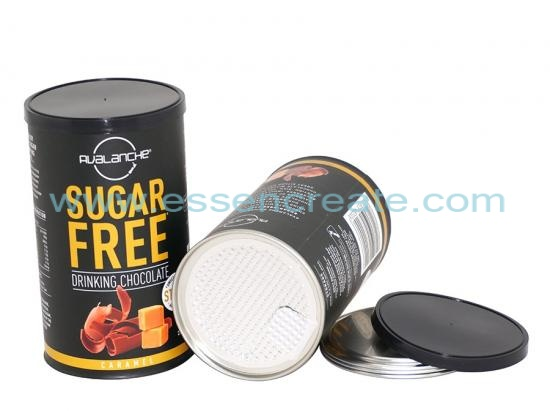 Paper Tube Chocolate Packaging Canister