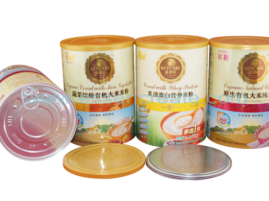 Rice Flour Packaging Paper Cans