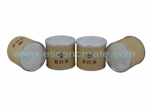 Composite Kraft Paper Tea Tube Packaging Cans